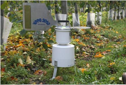 sporetrap monitoring parcha kounikaty sadownicze agrosimex