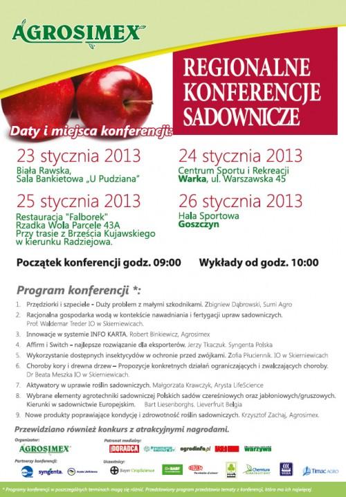 agrosimex konferencje sadownicze spotkanie sadownicze