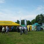 stoisko firmy agrosimex - manewry ogrodnicze 2013 w Dąbrowicach