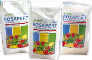 Rosafert 12-12-17-2, Rosafert 15-5-20-2, Rosafert 5-12-24
