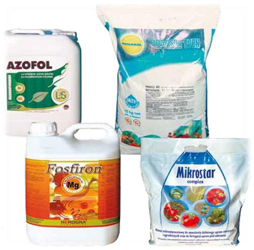 Azofol, Fosfiron Mg, Mikrostar complex, Rosasol