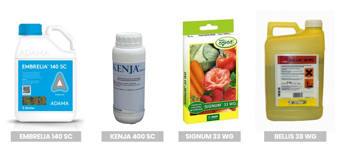 Fungicydy z grupy SDHI